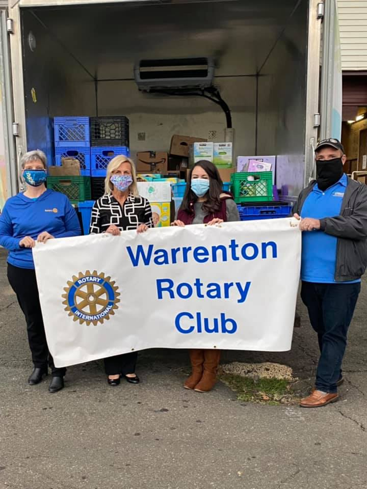 Warrenton Rotary and The Fauquier Community Food Bank & Thrift Store's Baby Shower